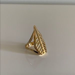 Rebecca Minkoff gold ring